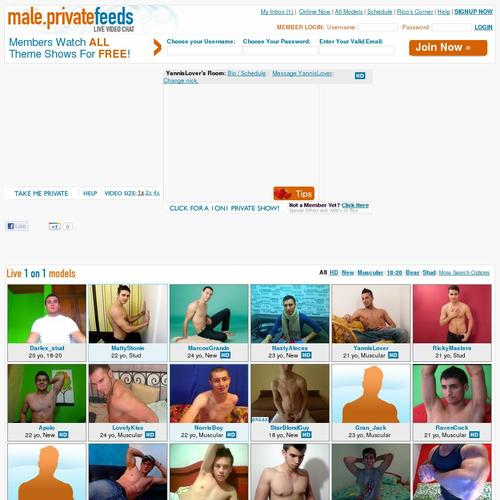 private feeds male
